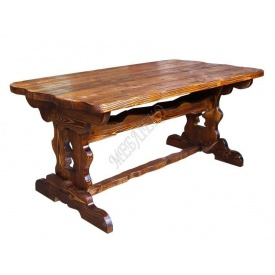 Деревянный стол МеблиЭко Атлант 80х240 см (101044)