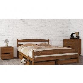 Ліжко МебліЕко Ліка з ящиками 120х200 см (101437)