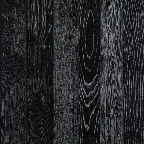 Паркетна дошка DeGross Дуб чорний з сріблом протертий 1200х100х15 мм