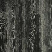 Паркетная доска DeGross Дуб черный с белым браш масло 1200х120х15 мм