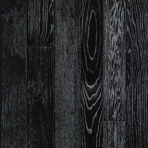 Паркетна дошка DeGross Дуб чорний з сріблом протертий 1200х120х15 мм