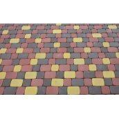 Тротуарная плитка Старый город Стандарт 30 мм серая