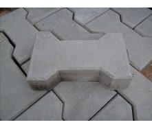 Тротуарна плитка Котушка Економ 30 мм сіра