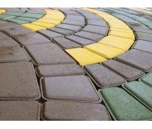 Тротуарна плитка Римський камінь Економ 30 мм сіра