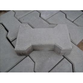 Тротуарная плитка Катушка Эконом 30 мм серая