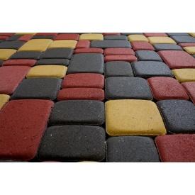 Тротуарная плитка Гармония Элит 30 мм серая