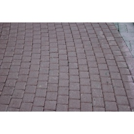 Тротуарня плитка Квадрат-Эконом 30 мм серая