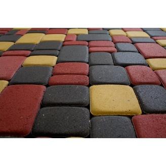 Тротуарна плитка Гармонія Еліт 30 мм сіра