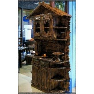 Сервант деревянный под старину