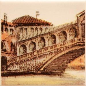 Плитка декоративная АТЕМ Parma Sity Bridge 1 B 7х100х100 мм