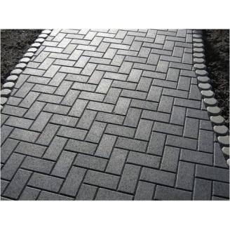 Тротуарна плитка Цегла Економ 30 мм сіра