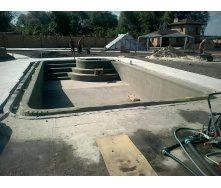 Строительство железобетонного скимернного бассейна