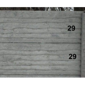 Комплект Евро Бетонный забор 3