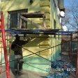 Утепление пенополистиролом и декоративная отделка фасада