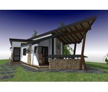 Будівництво каркасного будинку ТК_Літня кухня 51 м2