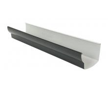 Желоб водосточный Nicoll 28 OVATION 125 мм темно-серый