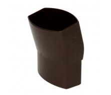 Отвод Nicoll 28 OVATION 15° 80 мм коричневый