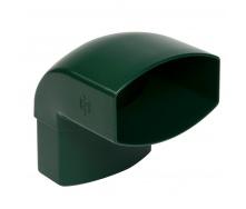 Отвод Nicoll 28 OVATION 87° 80 мм зеленый