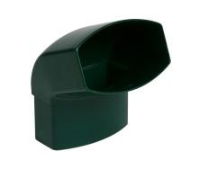 Отвод Nicoll 28 OVATION 67° 80 мм зеленый