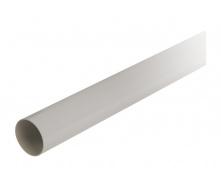 Труба водосточная с муфтой Nicoll 25 ПРЕМИУМ 80 мм серый
