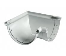 Угол желоба универсальный 90° Nicoll 33 170 мм серый
