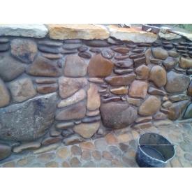 Оформлення забору облицювальним каменем