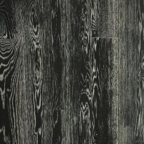 Паркетна дошка DeGross Дуб чорний з білим браш масло 500х100х15 мм
