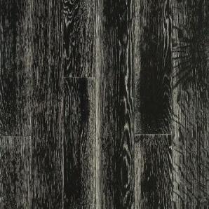 Паркетна дошка DeGross Дуб чорний з білим браш лак 500х100х15 мм