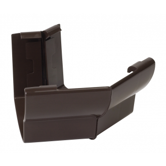 Угол желоба 135° внешний Nicoll 28 OVATION 125 мм коричневый