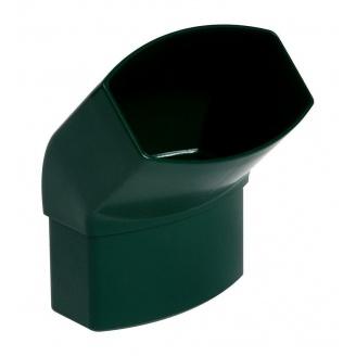 Отвод Nicoll 28 OVATION 45° 80 мм зеленый
