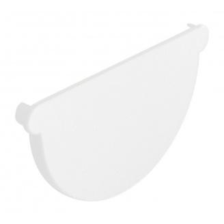 Заглушка воронки универсальная Nicoll 25 ПРЕМИУМ белый