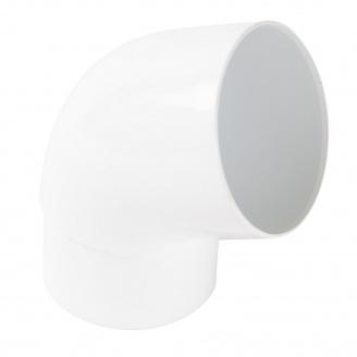 Отвод одномуфтовый Nicoll 67° белый