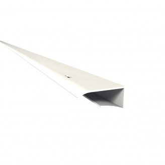 Финишный профиль J-образный Nicoll BELRIV 4 м белый