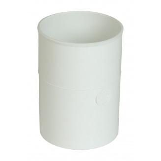 Муфта водосточной трубы Nicoll 33 белый