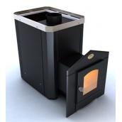 Дверцята Новаслав С2 для печі кам'янки Класик з термостійким склом 200х200 мм