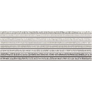 Плитка Opoczno Mirror grey inserto lines 25x75 см