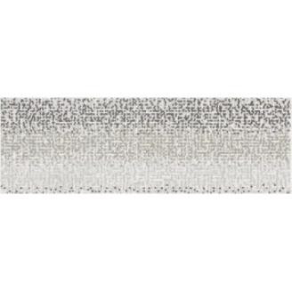 Плитка Opoczno Mirror grey inserto geo 25x75 см
