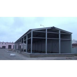 Строительство холодного склада под ключ