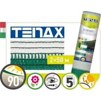 Полімерна сітка TENAX Солеадо 2х50 м біло-зелена