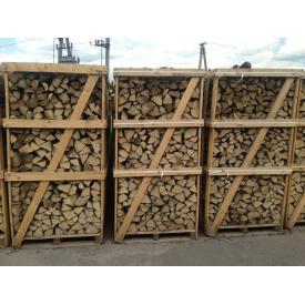 Дрова рубленые в ящиках от 30 до 33 см дуб