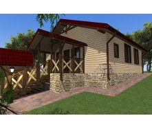 Строительство каркасного дома Compact_012