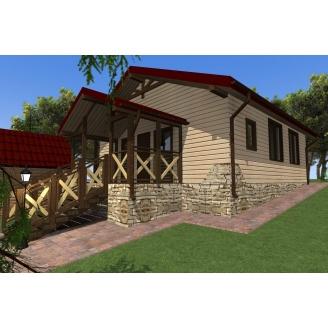 Будівництво каркасного будинку Compact_012
