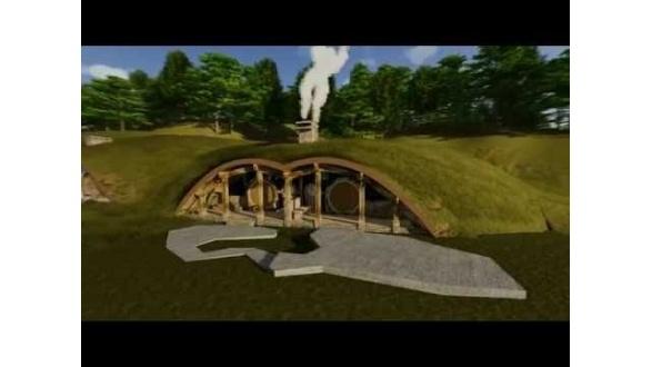 Проект комплекса Hobbit Resort