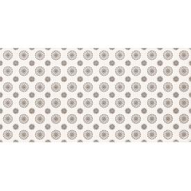 Плитка декоративна Paradyz Piumetta Bianco Inserto B 295х595х11 мм