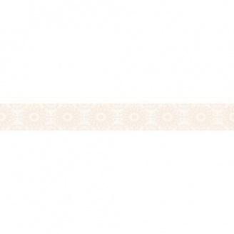 Фриз Paradyz Piumetta Bianco А 70х595х11 мм