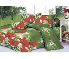 Комплект постельного белья Restline 101 Лилия 3D Полуторный микросатин 150х215 см