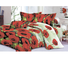 Комплект постельного белья Restline 107 Милена 3D Полуторный микросатин 150х215 см