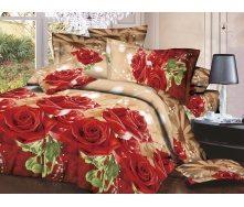 Комплект постельного белья Restline 145 Серенада 3D Полуторный микросатин 150х215 см