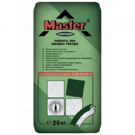 Cухая смесь для стяжки пола Master Continent 20 кг