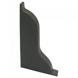 Заглушка ліва Оміс 52х49 мм сірий